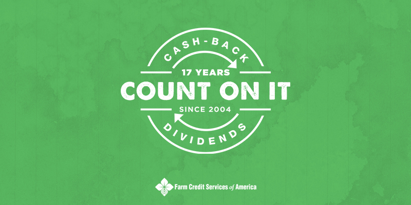 2021 cash back dividends