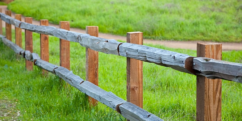 property fence line