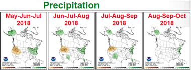 precipitation May-October 2018