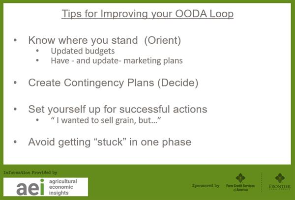 Tips for Improving Your OODA Loop Decisions