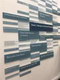 vet donor wall