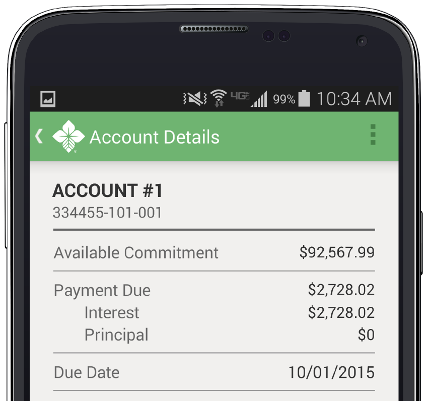 Account Details Graphic